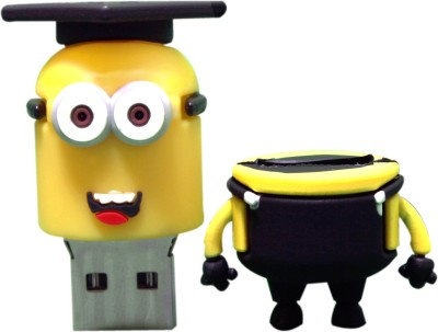 Dreambolic Minion Scholar Head 16 GB  Pen Drive (Yellow)