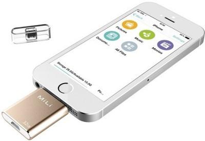Mili HI-D91 32 GB  Pen Drive (Gold)