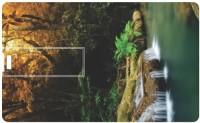 Printland Credit Card Walk In Garden PC80388 8 GB  Pen Drive (Multicolor)
