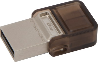 Kingston DTDUO/8GB 8 GB  Pen Drive (Brown)