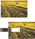 Print Shapes GOLDEN LAKE Credit Card Shape