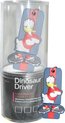 Dinosaur Drivers Donald Blue 8 GB  Pen Drive (Multicolor)
