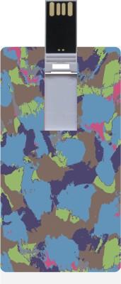 Garmor GRPd_202 Designer Printed Credit Card Shape 8GB Pendrive 8 GB Pen Drive (Multicolor)
