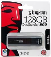 Kingston 128 Gb Data Traveler 128 GB  Pen Drive (Black)