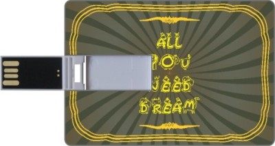 Via Flowers Llp Dream VPC160184 16 GB  Pen Drive (Multicolor)