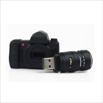 Smiledrive Super Fast Camera Fancy Designer 3.0 8 GB  Pen Drive (Black)