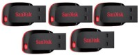 Sandisk Cruzer Blade USB Flash Drive 16 GB  Pen Drive (Black)