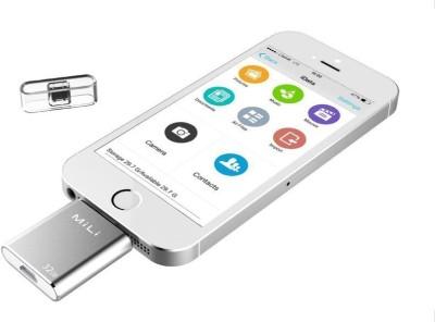 MiLi iData 64 GB  Pen Drive (Silver)