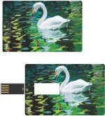 Print Shapes White Duck Credit Card Shape