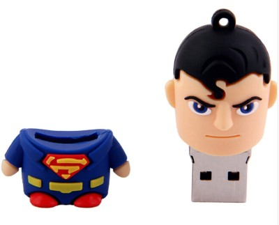 Storme Superman 8 GB  Pen Drive (Red, Blue)