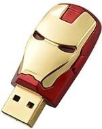 Dragon 3D Cartoon Iron man shape 8GB capacity Metal Cute Flash drive memory stick