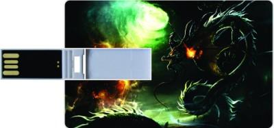 Printland Credit Card Lets Fight 8 GB  Pen Drive (Multicolor)