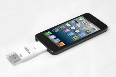 Pinglo i-Flash Drive USB OTG Memory 32 GB  Pen Drive (White)
