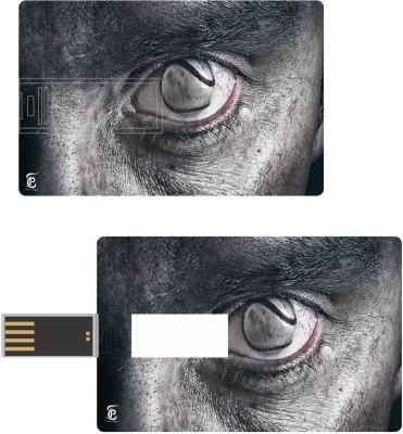 Print Shapes Eye design creative artwork Credit Card Shape