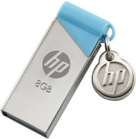 HP V 215 B 8 GB  Pen Drive (Silver, Blue)