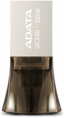 Adata Flash UC330 32 GB  Pen Drive (Black)