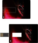 Print Shapes Alien Girl Credit Card Shape