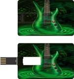 HD ARTS Green Neon Guitar