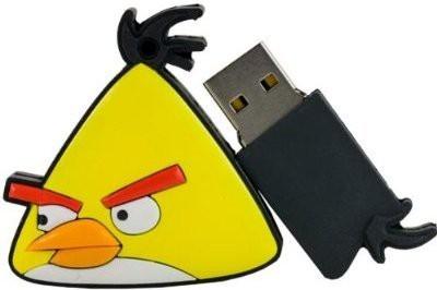 GeekGoodies Fancy Designer Angry Bird Speedy 8 GB  Pen Drive (Yellow)