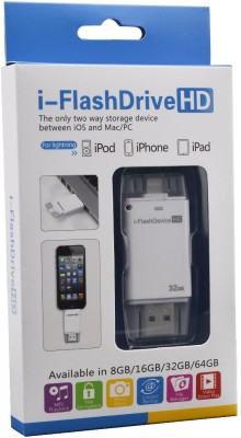 Maya iFlash Device HD 32 GB  Pen Drive (White)