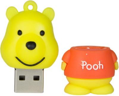 Zeztee Pooh Cartoon Character 8 GB  Pen Drive (Multicolor)