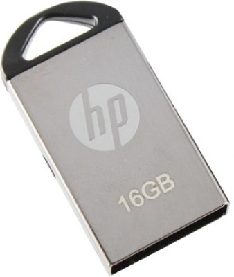 HP V 221 W 16 GB Utility Pendrive (Metallic Silver)