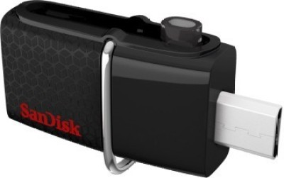 SanDisk SDDD2-128G-GAM46 128 GB On-The-Go Pendrive (Black)