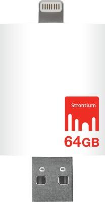 Strontium Nitro iDrive USB 3.0 64 GB OTG Pen Drive