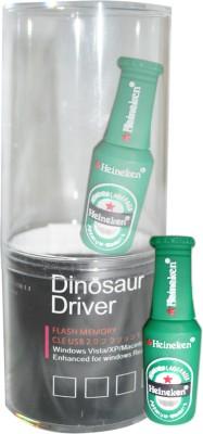 Dinosaur Drivers Heineken Green 8 GB  Pen Drive (Multicolor)