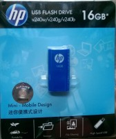 HP V240W/V240G/V240B 16 GB  Pen Drive (Blue)
