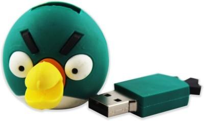 Shopizone Angry Bird 32 GB  Pen Drive (Green)