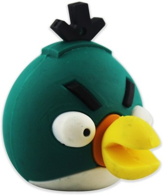 Shopizone Angry Bird 32 GB  Pen Drive (Green)