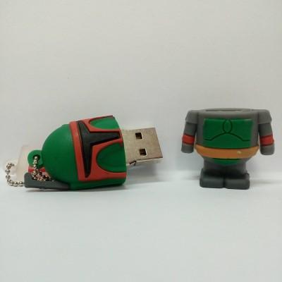 Vibes P-072 16 GB  Pen Drive (Green)