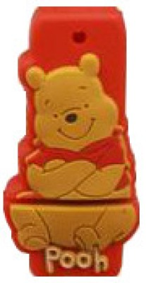 Microware Winnie The Pooh Shape Pen Drive