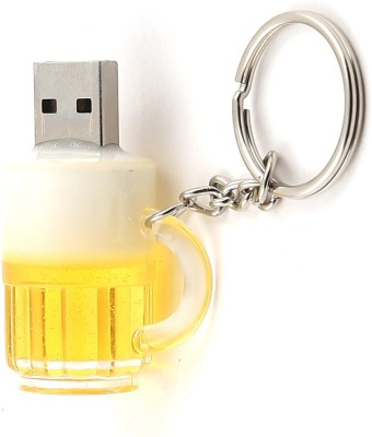North Moon BEER USB 8 GB  Pen Drive (Gold)