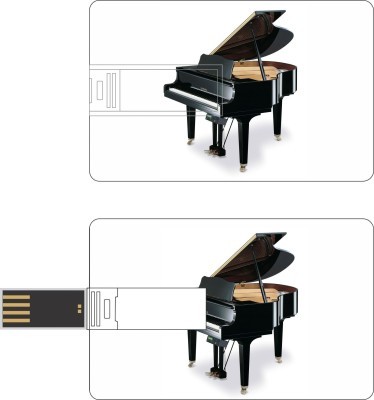 HD ARTS Black Grand Piano