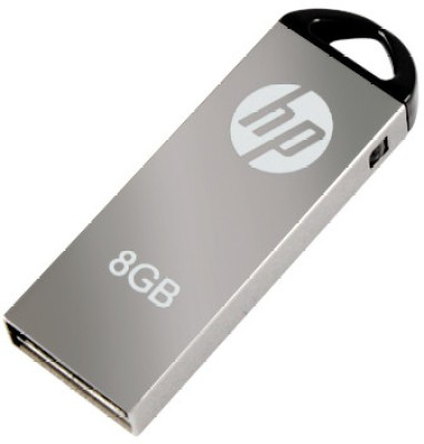 HP USB 2.0 Utility PendriveV-220 W 8 GB (Grey)