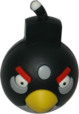 QP360 Cartoon Character Angry Bird Pendrive 8 GB  Pen Drive (Multicolor)