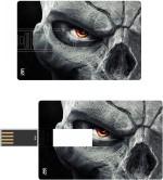 Print Shapes Skull Eye Darksiders Credit Card Shape