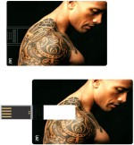 Print Shapes The Rock Tatto Credit Card Shape