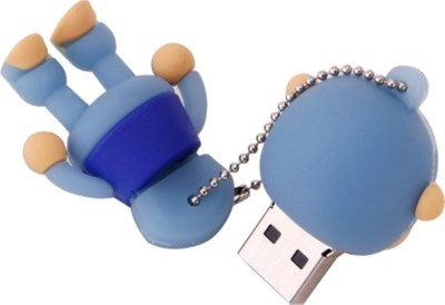 Yes Celebration Blue Monkey 4 GB  Pen Drive (Blue)