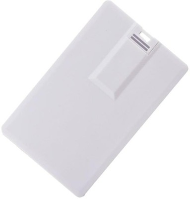 ATAM AECC-001 Credit Card Shape 4 GB  Pen Drive (White)
