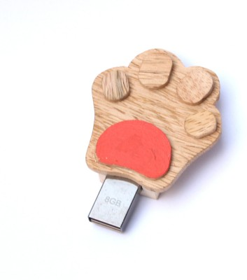 IVEI D02R 8 GB  Pen Drive (Red)