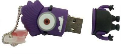 Vibes P-024 16 GB  Pen Drive (Purple)