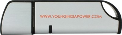 Young India Curve flash drive 8 GB  Pen Drive (Silver)