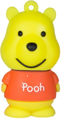 Zeztee Pooh Cartoon Character 8 GB  Pen Drive (Multicolor)