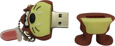 Vibes P-018 16 GB  Pen Drive (Brown)