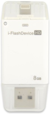 YourDeal 32GB i Flash Drive USB OTG Memory Stick 32 GB  Pen Drive (White)