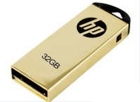 HP V-225 W 32 GB Pen Drive (Golden)