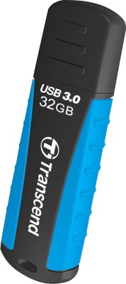 Transcend Jet Flash 810 32 GB Pen Drive (Blue)